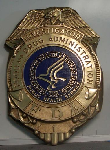 Dhhs Fda Investigator Wall Seal Www Wallseals Com