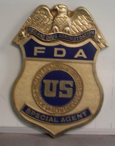Dhhs Fda Special Agent Wall Seal Www Wallseals Com