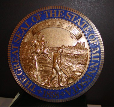 minnesota state wall seal